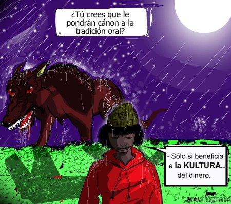 Caperucita La Roja Contra El Kanon Feroz