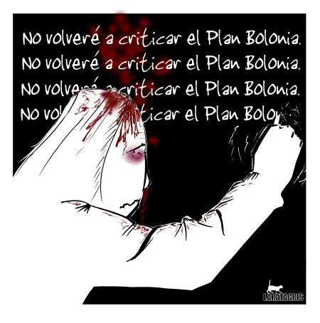 La Bolonia con sangre entra