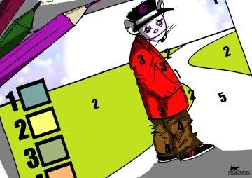 Colorear según el número
