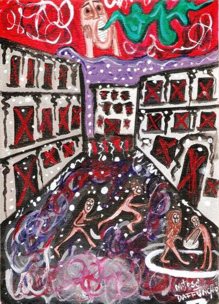 Dibujo de Mariajo para la habitacion descongelada.