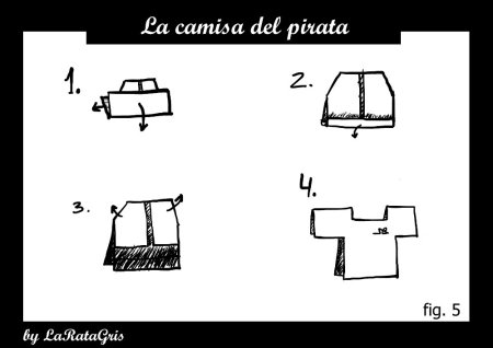la camiseta del pirata