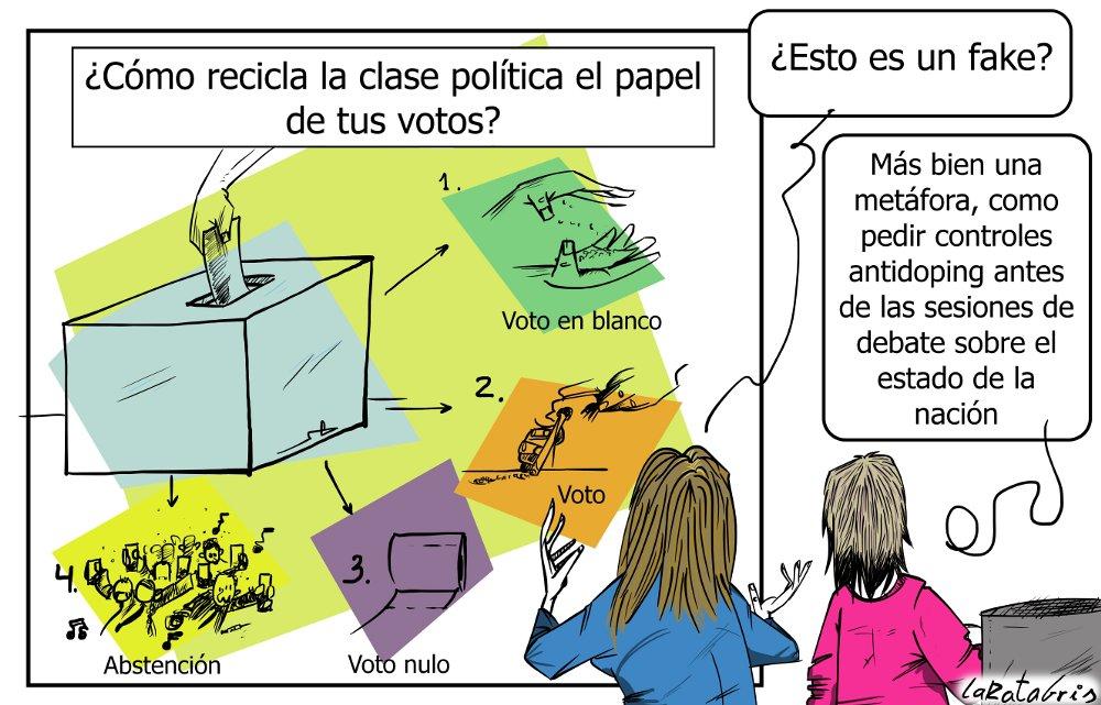 Política reciclada