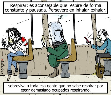 Manual de supervivencia: Respirar