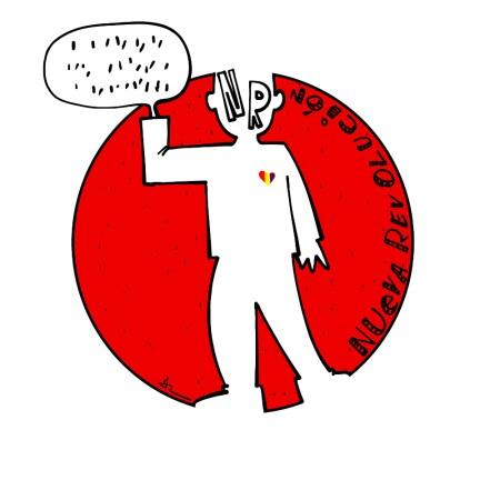 logo para nueva revolución por LaRataGris con letras
