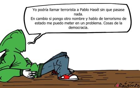 Seleccione su terrorista