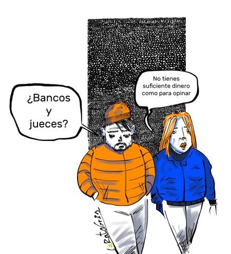 Bancos y amigos