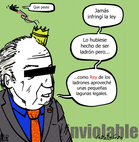 El rey intocable
